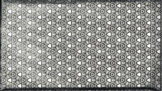 Black and White Vintage Seamless Ornamental Pattern Wallpaper