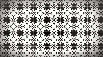 Black and White Geometric Seamless Pattern Background Image