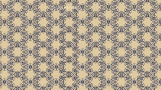 Blue and Beige Seamless Floral Vintage Pattern Background Image