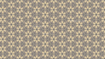 Blue and Beige Vintage Seamless Wallpaper Background