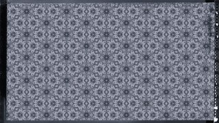 Blue and Grey Seamless Floral Background Pattern