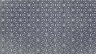 Blue and Grey Vintage Floral Seamless Pattern Wallpaper Design Template