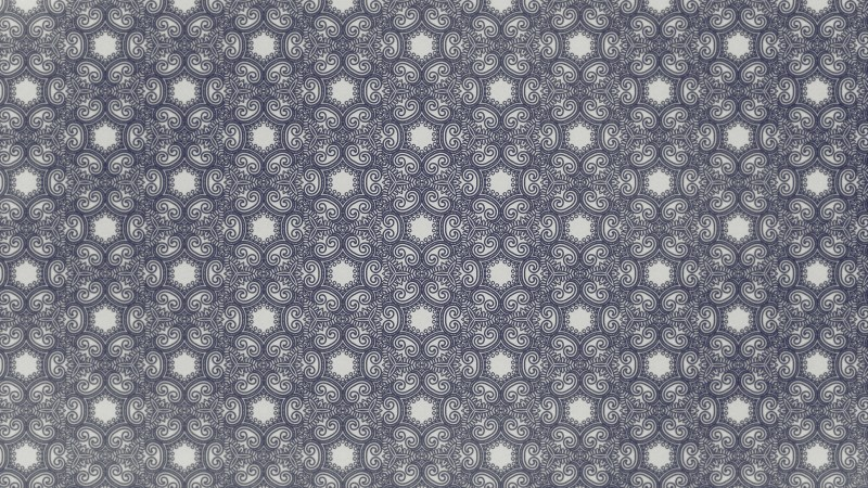 Blue and Grey Vintage Ornamental Seamless Pattern Wallpaper Template
