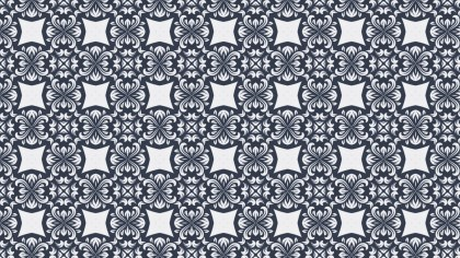 Decorative Floral Wallpaper Pattern