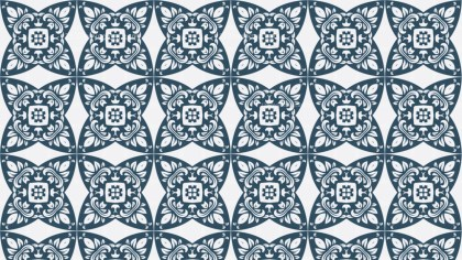 Decorative Floral Seamless Wallpaper Pattern Design Template