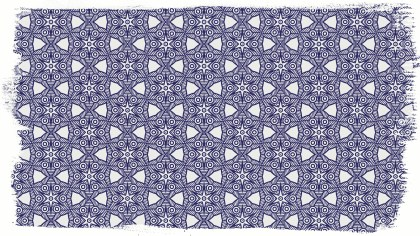 Blue and White Decorative Background Pattern