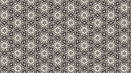 Decorative Floral Ornament Pattern Background Graphic