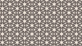Brown Floral Pattern Background
