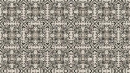 Decorative Floral Ornament Pattern Wallpaper Graphic
