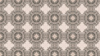 Brown Floral Seamless Pattern Wallpaper Image