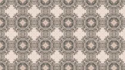 Brown Floral Seamless Pattern Wallpaper Image