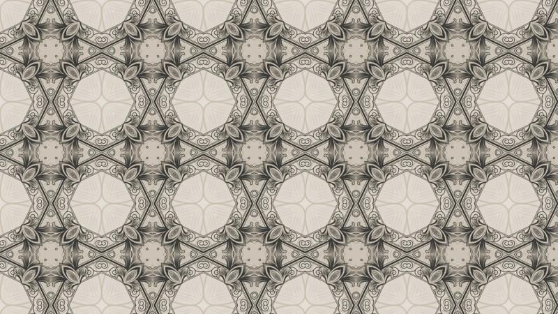 Brown Ornamental Seamless Pattern Wallpaper Graphic