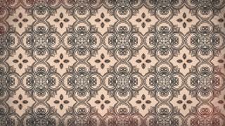 Brown Decorative Ornament Wallpaper Pattern