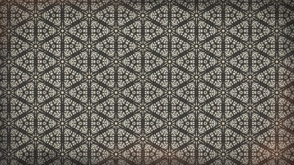 Brown Flower Wallpaper Pattern