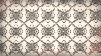 Brown Floral Wallpaper Background