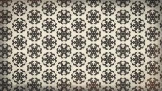 Decorative Floral Ornament Pattern Background Template