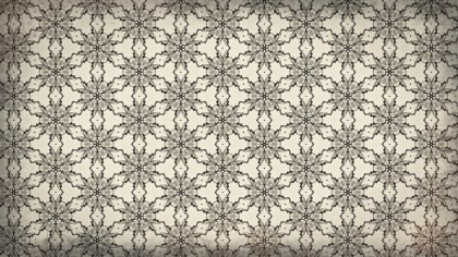 Brown Floral Seamless Pattern Background Design Template