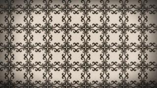Brown Seamless Ornamental Pattern Background