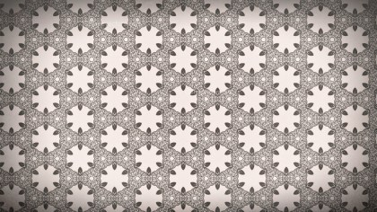 Brown Decorative Floral Ornament Background Pattern Template
