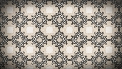 Decorative Floral Seamless Background Pattern Graphic