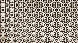 Brown Vintage Decorative Floral Seamless Pattern Background Image