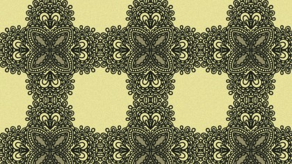 Brown Vintage Seamless Ornamental Pattern Background