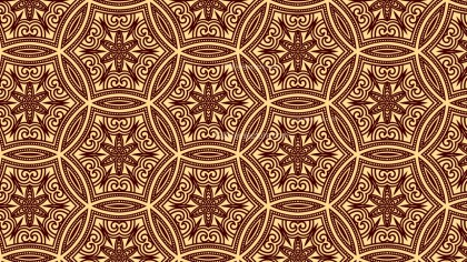 Vintage Ornamental Background Pattern