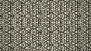 Brown Vintage Floral Seamless Pattern Wallpaper Design Template