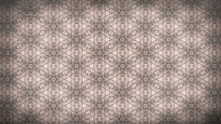Brown Seamless Floral Vintage Pattern Background Image