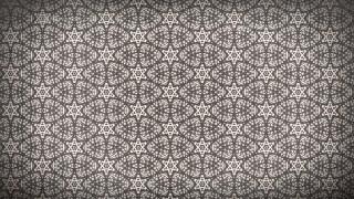 Brown Vintage Decorative Floral Seamless Pattern Background Image