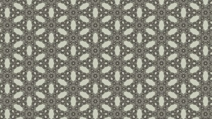 Brown Vintage Seamless Floral Wallpaper Pattern
