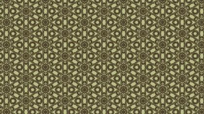 Brown Vintage Floral Wallpaper Background