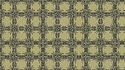 Brown Vintage Floral Seamless Pattern Background Graphic