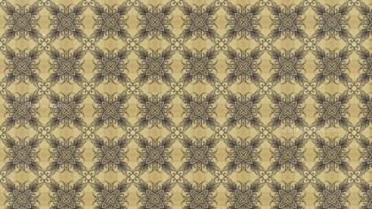 Vintage Flower Pattern Background