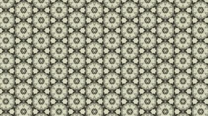 Brown Vintage Ornamental Pattern Background