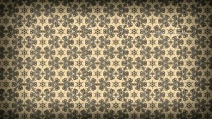 Brown Vintage Ornamental Seamless Pattern Background Design
