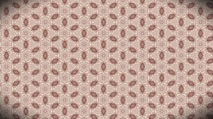 Ornamental Vintage Pattern Background Design