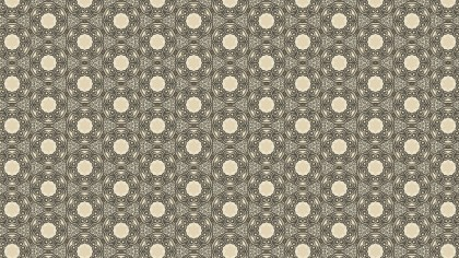 Vintage Decorative Floral Background Pattern