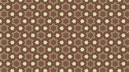 Vintage Floral Wallpaper Pattern