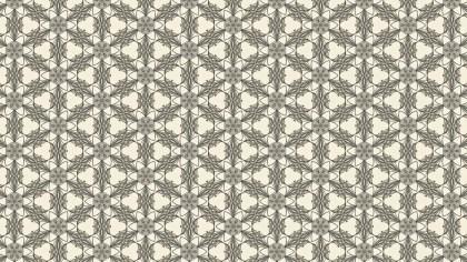 Brown Ornamental Vintage Background Pattern