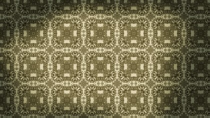 Brown Vintage Seamless Wallpaper Pattern Template