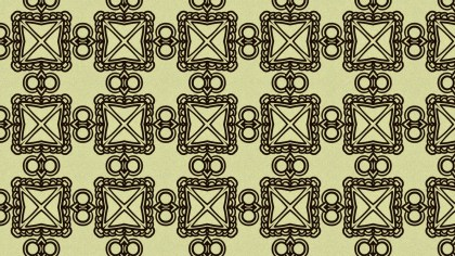 Brown Vintage Decorative Floral Ornament Wallpaper Pattern Image