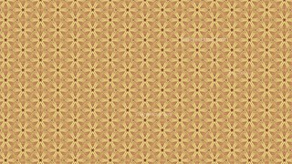 Brown Vintage Floral Pattern Background