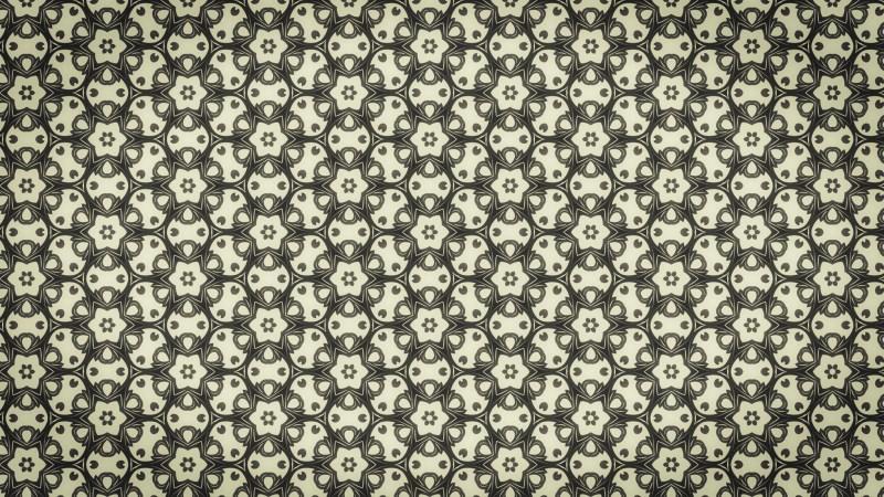 Brown Vintage Seamless Wallpaper Background