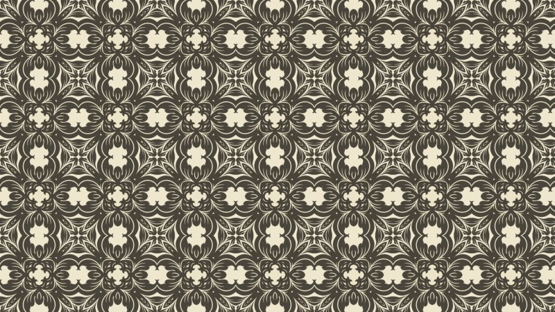 Seamless Vintage Wallpaper Pattern Background Design Template
