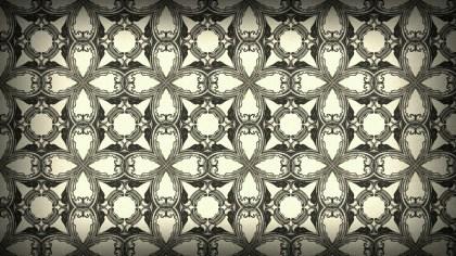 Brown Vintage Seamless Ornamental Pattern Wallpaper