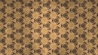 Brown Vintage Seamless Wallpaper Pattern Template
