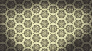Brown Vintage Seamless Ornament Background Pattern Graphic