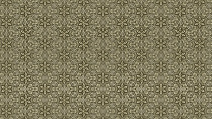 Brown Vintage Ornamental Pattern Background