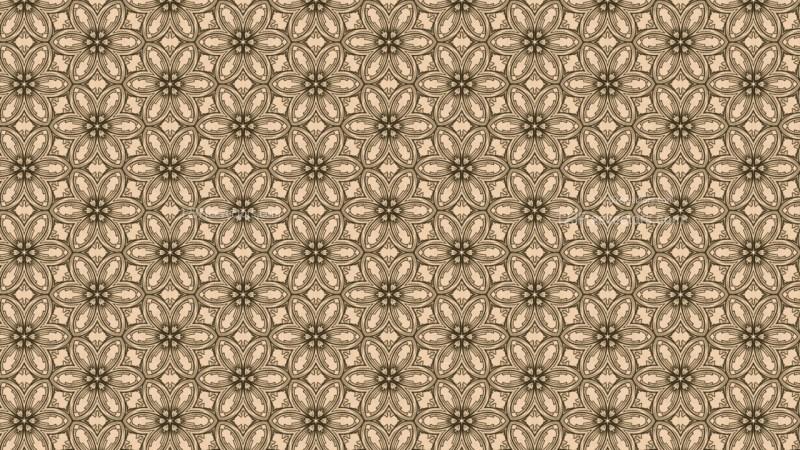 Brown Vintage Decorative Ornament Background Pattern